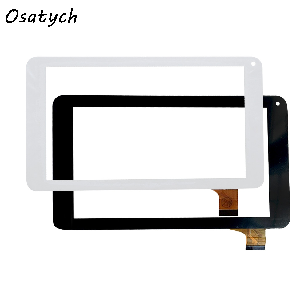 New 7 inch Black/White Touch Screen for HC186104A1FPC-V2.0 Digitizer Glass Replacement Free Shipping replacement new touch screen digitizer glass for samsung galaxy tab 2 p5100 p5110 n8000 10 1 inch black white free shipping