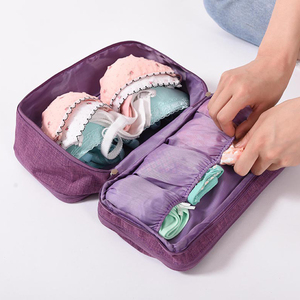 Image 4 - 3ชิ้น/เซ็ตกระเป๋าเดินทางเครื่องสำอางค์ดิจิตอลสายสายBra Underwareเครื่องสำอางค์กระเป๋าเก็บกระเป๋าชุดจัดPackอุปกรณ์เสริม