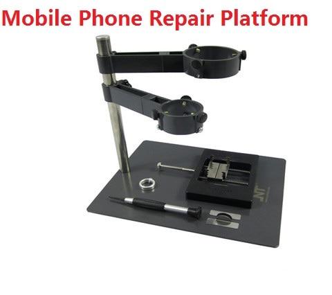 Pistolet à air chaud support à pince F-204 ordinateur portable et téléphone portable BGA Station de reprise pistolet à Air chaud pince Jig NT F204 montages