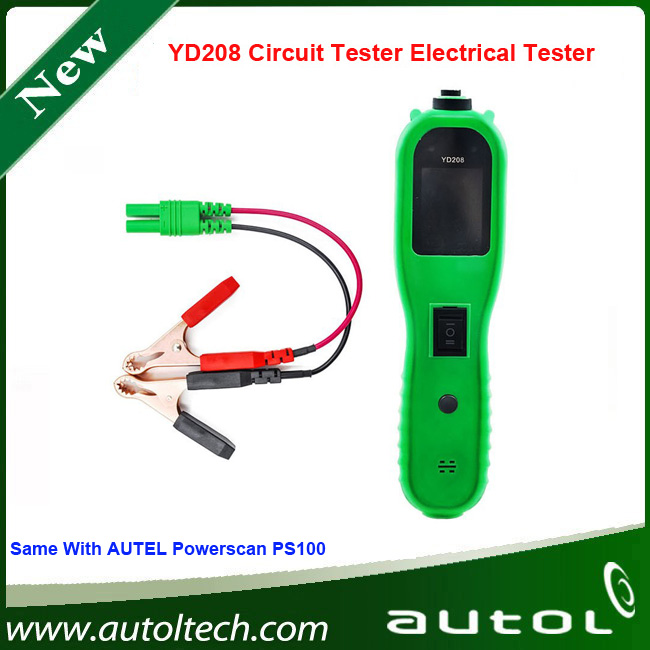ФОТО Autek PowerScan YD208 Electric Check Meter of Circuit Fail for Automobile Circuit Tester 2015 High quality Power Scan YD208