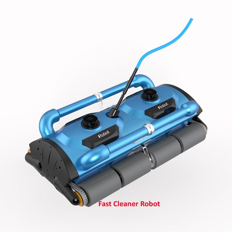 USO COMERCIAL robótica limpiafondos automático Icleaner 200D con 40 ...