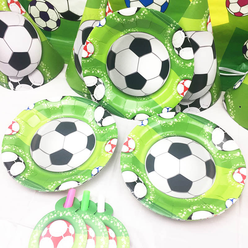6pcs/lot boys football Theme Paper Plates Birthday Party Dishes Kids Favors Decoration Tableware Baby Shower Supplies -in Disposable Party Tableware from ...  sc 1 st  AliExpress.com & 6pcs/lot boys football Theme Paper Plates Birthday Party Dishes Kids ...