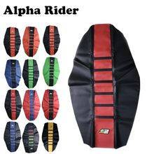 Universal Gripper Soft Motorcycle Seat Cover Rib Skin Rubber Dirt Bike Enduro(China)