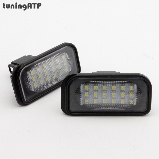 2x Led Smd Plaque Dimmatriculation Eclairage