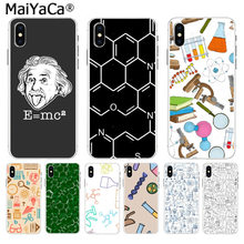 MaiYaCa E=mc2 Mathematical equation Physical formula Luxury Phone Case for iphone 11 pro 8 7 66S Plus X 10 5S SE XS XR XS MAX(China)