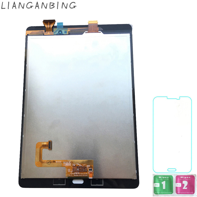 New 100% LCD Tab A 9.7 SM-P550 P550  Display Touch Screen Digitizer Sensors Assembly Panel Replacement For Samsung Galaxy P550