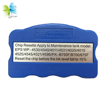 Winnerjet 3pcs T6710 Maintenance Tank Chip Resetter For Epson WorkForce Pro WF-5190 WF-5620 WF-4640 Printer t6710 maintenance box for epson wf 5620 wf 5110 wf 4630 wf 5190 waste ink tank for epson t6710