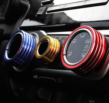 GR AS3 Car interior accessories For Honda Fit 2014 2016 instrument ...