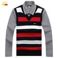 2017 new striped v-neck sweater vests cultivate one's morality leisure woolen vest male money 8670 # SIZE: M - XXXL