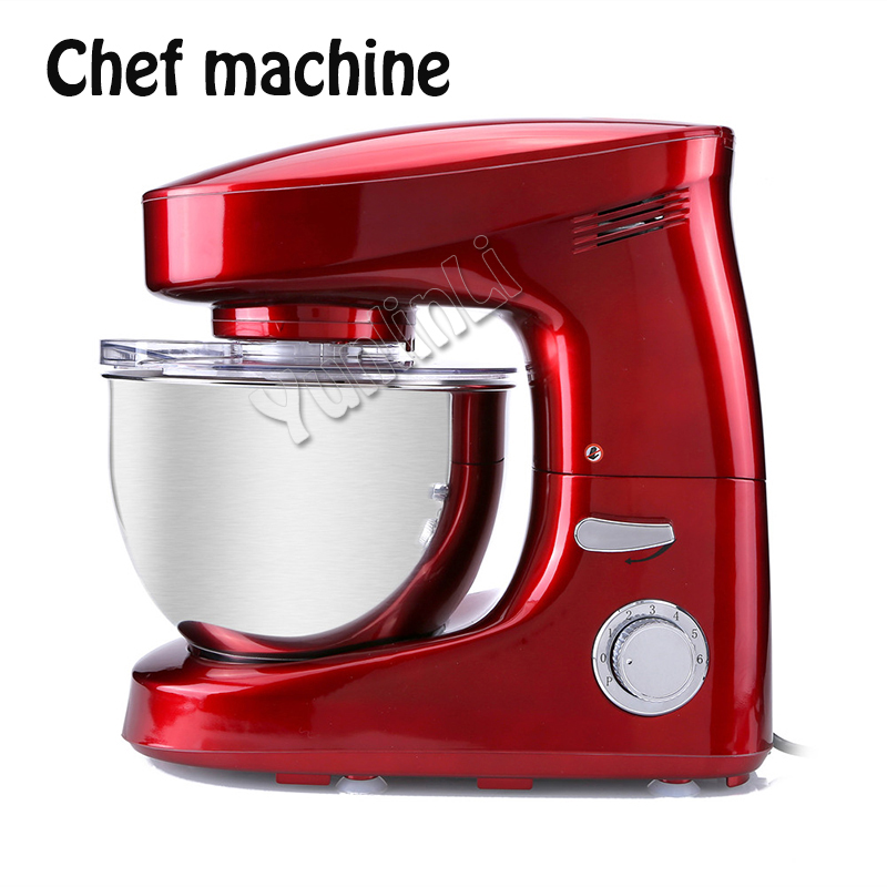 Chef Machine Zq Home Small Multi Function Automatic Commercial Dough Mixer Kneading Machine Small Appliance Parts Accessories Small Appliance Parts Accessories Home Kitchen Kitchen Home Appliances