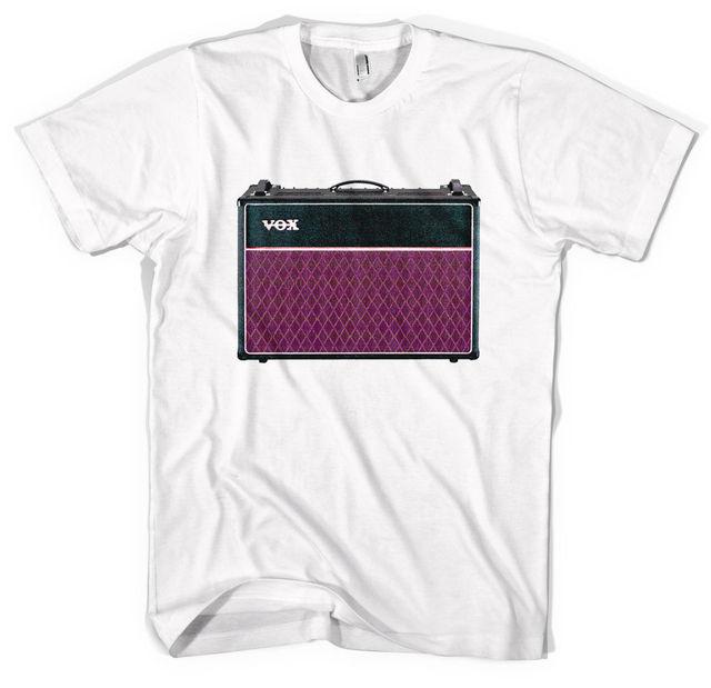 81901fb22a0 Vox AC30 Guitar Amp Unisex T shirt All Sizes Colours Short Sleeve Round  Neck T Shirt