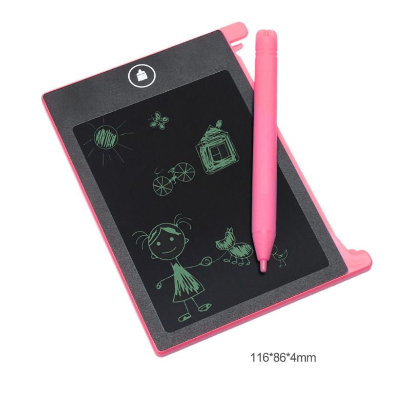 4.4 inch Digital LCD Electronic Notepad for Children Kids Writing Drawing Board Handwriting Painting Pads Baby Drawing Toys