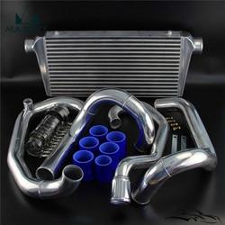 Zestaw Intercooler dla SU * BARU I * MPREZA W * RX GC8 (1996-2000) Intercooler zestaw rur wąż silikonowy kolor niebieski marka CSK