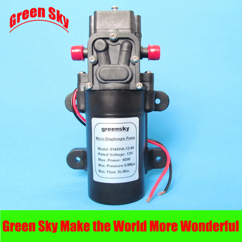 5L/Min DC12V 60W High Pressure miniature diaphragm pump 5l min dc12v 60w high pressure mini water diaphragm pump