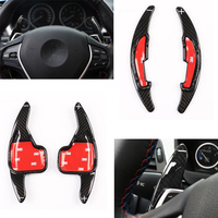 TTCR II Car Modified Accessory Carbon Fiber Paddle Shifters For BMW M2 M3 M4 M5 M6