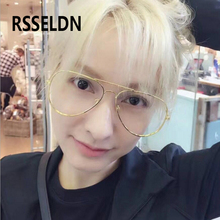 RSSELDN 2017 Fashion Clear Glasses Women UV Protection Clear Frame Glasses Men Glasses Women Retro Eye Glasses Frames