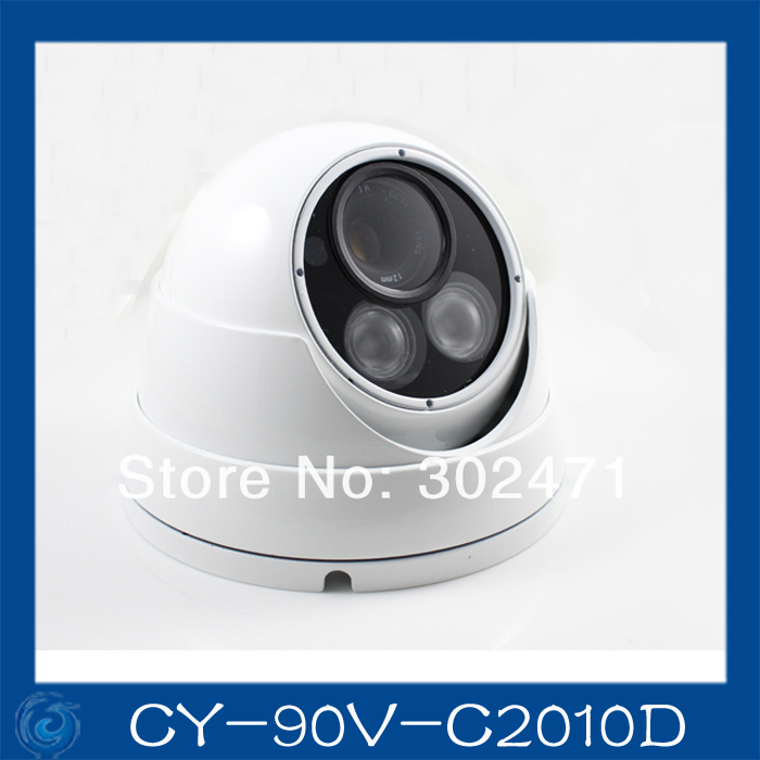 1/3 Sony CCD Effio-e 700TVL 673+4140 OSD menu array leds IR 30m outdoor waterproof cctv camera with Bracket . CY-90V-C2010D 1 3mp single array leds c mount sony 600tvl lens ir cctv ccd hd waterproof camera