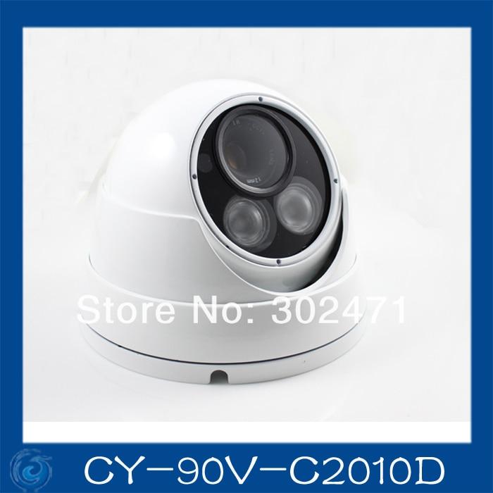 1/3 Sony  CCD Effio-e 700TVL 673+4140 OSD menu array leds IR 30m outdoor waterproof cctv camera with Bracket . CY-90V-C2010D 700tvl cctv camera sony effio e 4140 811 osd menu 6mm lens security camera outdoor using cy l102e