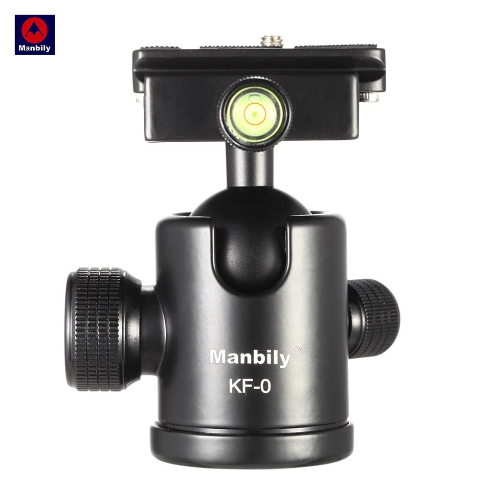 Manbily KF-0 Camera Tripod Ball Head Aluminum Alloy Ballhead Panoramic Head Sliding Rail ...