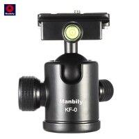 Manbily KF 0 Camera Tripod Ball Head Aluminum Alloy Ballhead Panoramic Head Sliding Rail Head With