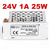 50 PCS 24V 1A 25W Switching Power Supply 24V 1A Driver for LED Strip AC 100 240V Input to DC 24V Power Supply