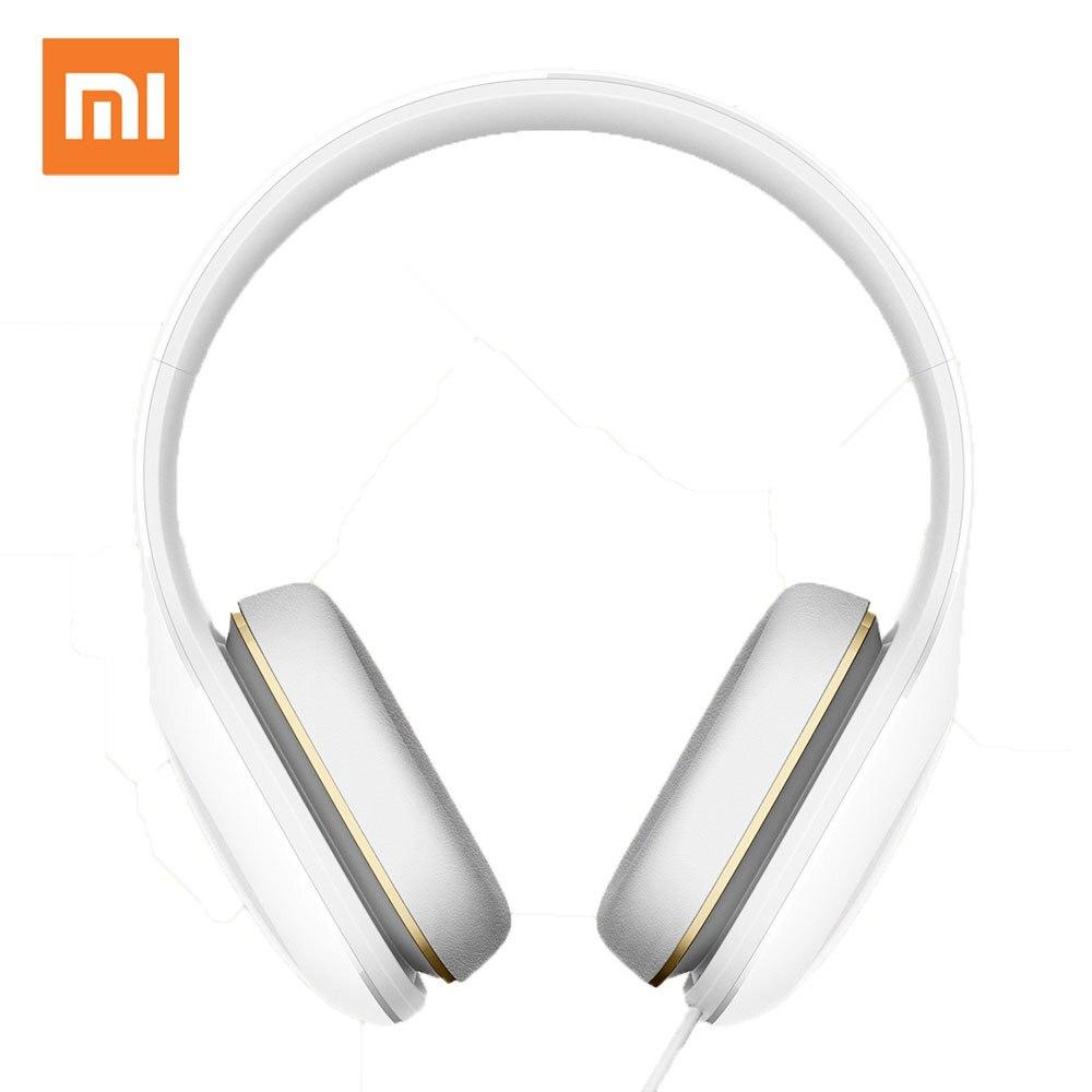Original Xiaomi Mi Headphones Easy Version With Mic Headset 3.5mm Stereo Music HiFi Earphone Button Control Headphone mi 313 migix movement music купить дешево в китае