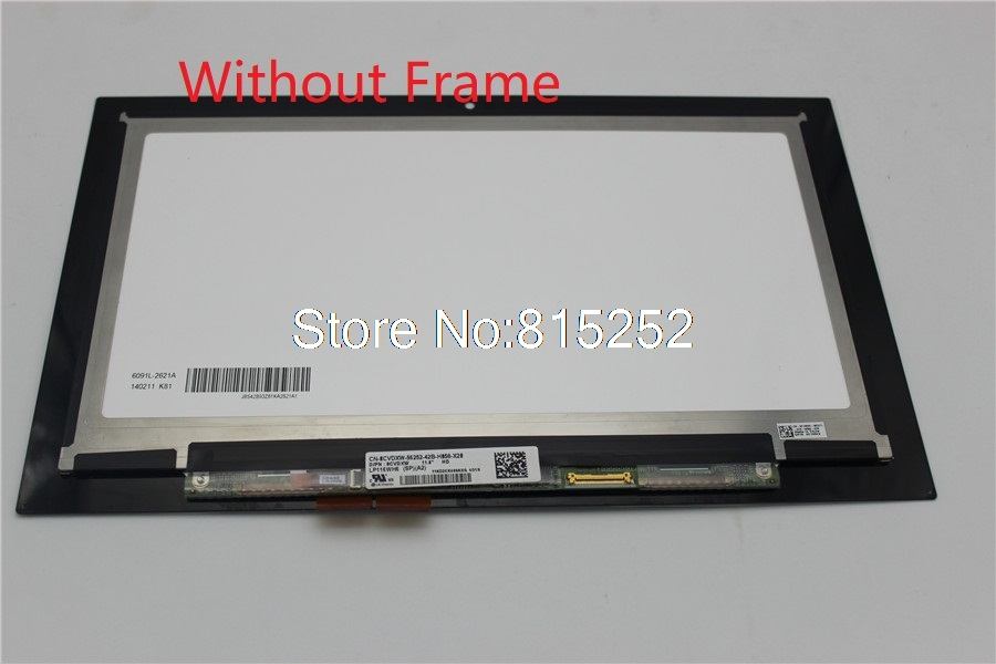 Laptop Touch screen For Dell 11 3147 3148 3000 3157 3158 3152 3153 3153 LP116WH6-SPA2 0CVDXW 0F5KCX LP116WH6-SPA3 0P99F7