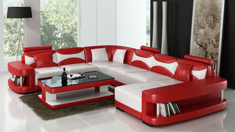 Us 1850 0 Sex Furniture Leather Sofa Sets With Coffee Table In Living Room Sofas From Furniture On Aliexpress Com Alibaba Group