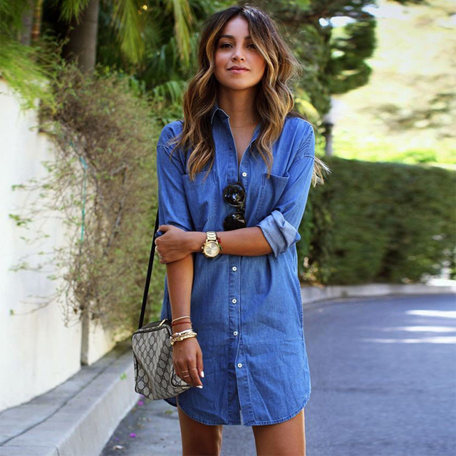 Vestido jeans c&a
