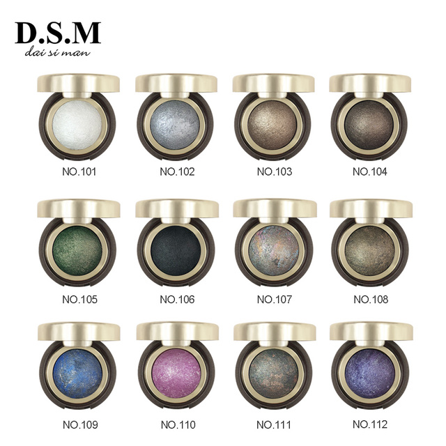 D.S.M Brand New Mineralize Eye Shadow Waterproof Long-lasting Cosmetic Eyes Perfect Shades Luminous Pigment Makeup Eyeshadow 1