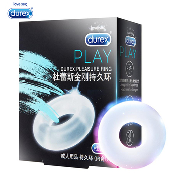 durex pleasure ring for condom enlargement ring penis sleeve extender sex toys erotic safe products for men ejaculation delay Durex Pleasure Penis Ring Firmer Erection Delayed Ejaculation Silicone Dick Cock Ring Penis Sleeve Erotic Adult Sex Toys for Man