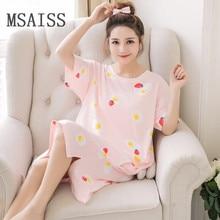 Новая мягкая женская сексуальная ночная рубашка с коротким рукавом ночная рубашка ночное белье летнее Ночное платье женская домашняя одежда