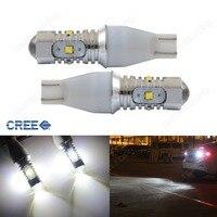 2x955 921 T15 168 W16W 25 Wát LED Bulbs Nội Thất Xếp Tail Side Ánh Sáng DRL (CA322)