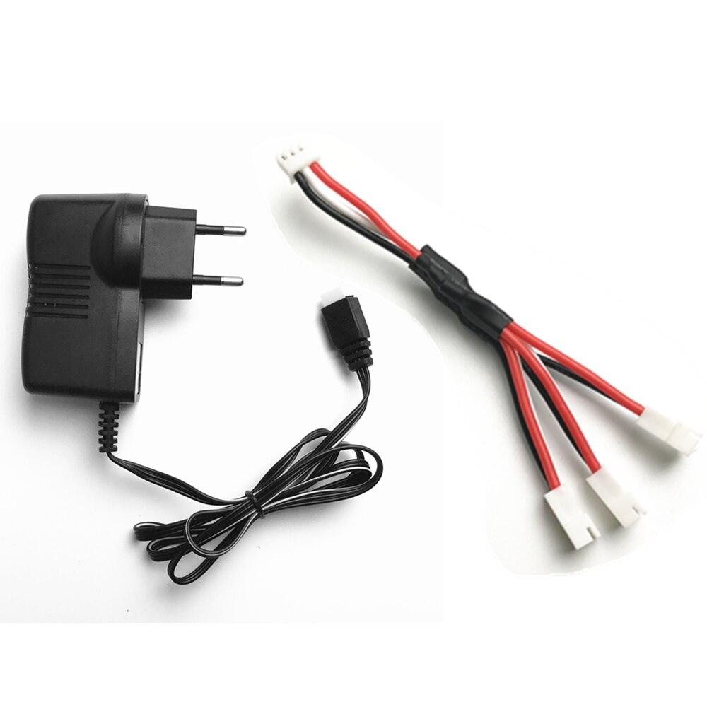 MJX X101 запасных Запчасти 7.4 В Батарея Зарядное устройство адаптер для x600 jjrc H16 yizhan Тарантул X6 WLtoys V912 V913 V262 v323 v333 Q212