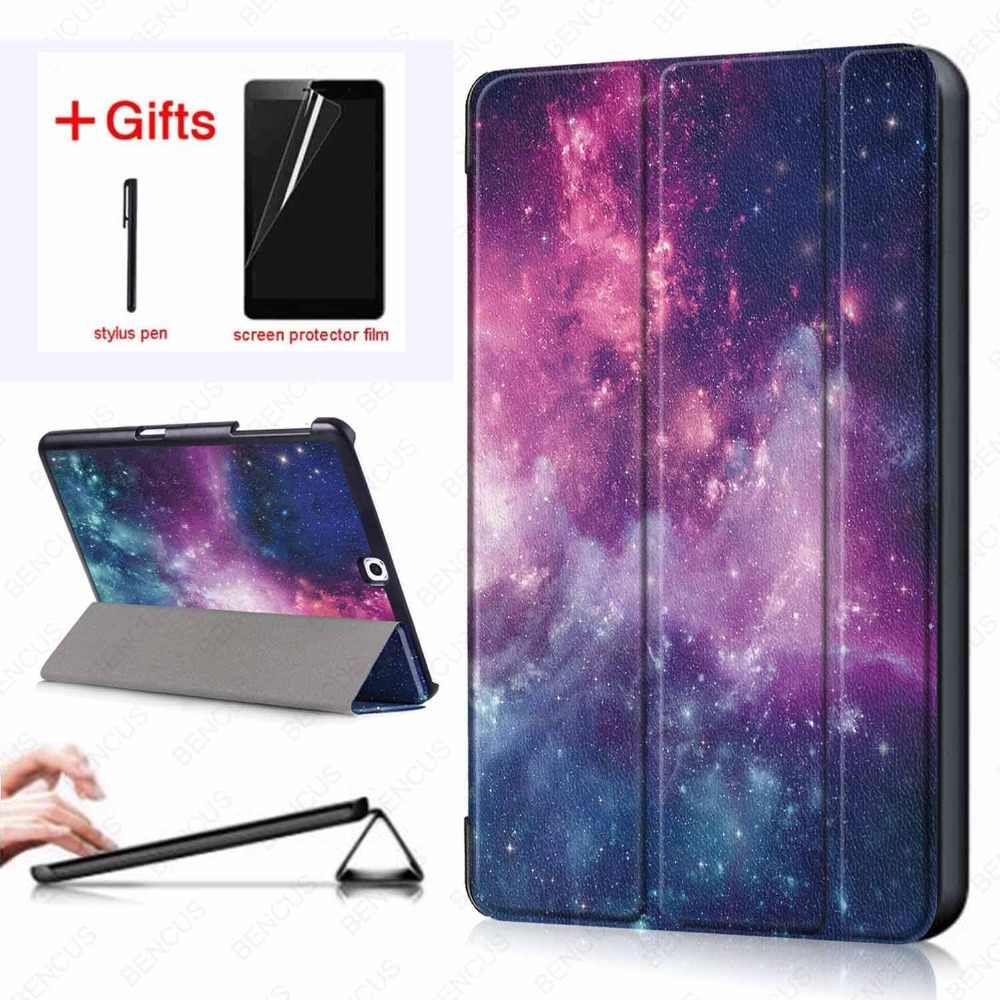 PU Leather Case Voor Samsung Galaxy Tab S2 9.7 Folding Case Cover voor Samsung Tab S2 9.7 SM-T815 T810 T813 t819 tablet case