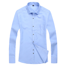 2017 Spring and Autumn men s casual large color shirt good quality men s long sleeved