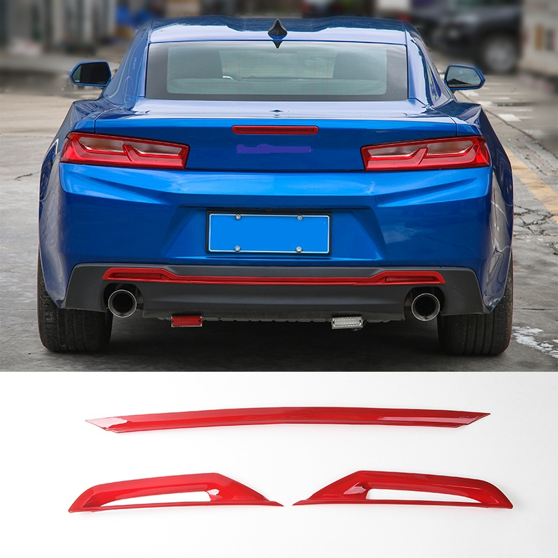 MOPAI Car ABS Tail Rear Bumper Board Decoration Trim Exterior Stickers For Chevrolet Camaro 2017 Up Car Styling цена