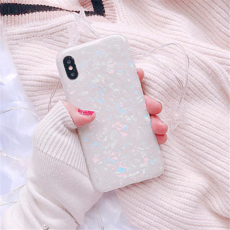Lüks Glitter Telefon iphone için kılıf 7 8 Artı Darbeye Dayanıklı Telefon iphone için kılıf 6 6 s 7 artı 8 artı X Rüya Kabuk yumuşak TPU kapak