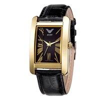 למעלה יוליוס Homme שעון יד של גברים אופנה פשוט ואלגנטי שמלת שעות צמיד עור בית ספר ילד יום הולדת מתנה של האב