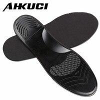 Unisex Arch Support Giày Pad Đen Silicon Gel Lót Chống Trơn Trượt Chèn Sốc-Absorbant Cushion Đàn Ông Phụ N