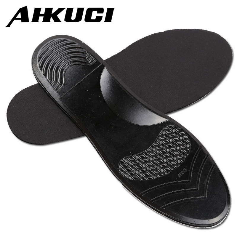 Unisex Arch Support Shoe Pad Black Silicon Gel Insoles Anti-Slippery Insert Shock-Absorbant Cushion for Men Women new fashion unisex soft rubber gel pain heel spur cup insoles support shoe cushion inserts for man shoe pad quality fm0994