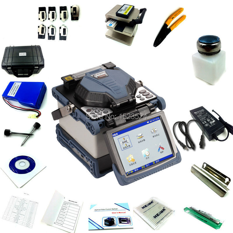 Original Ruiyan RY F600P FTTH Fiber Optic Splicing Machine Fusion Splicer