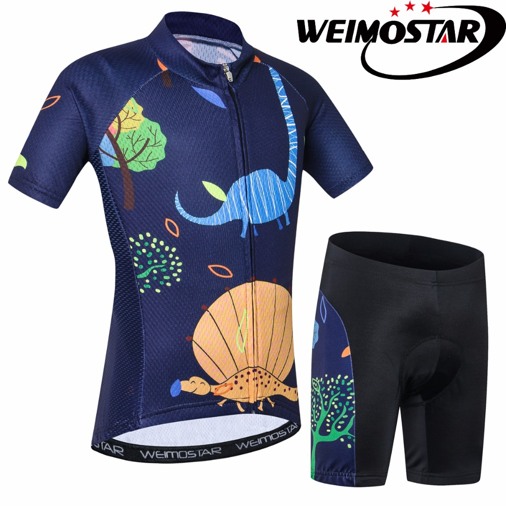 Detail Feedback Questions about Weimostar Bike Team Pro Cycling Jersey Kids  MTB dinosaur Cartoon Riding Bicycle Jersey Clothing Chlidren Ropa Ciclismo  on ... a63c8c04e