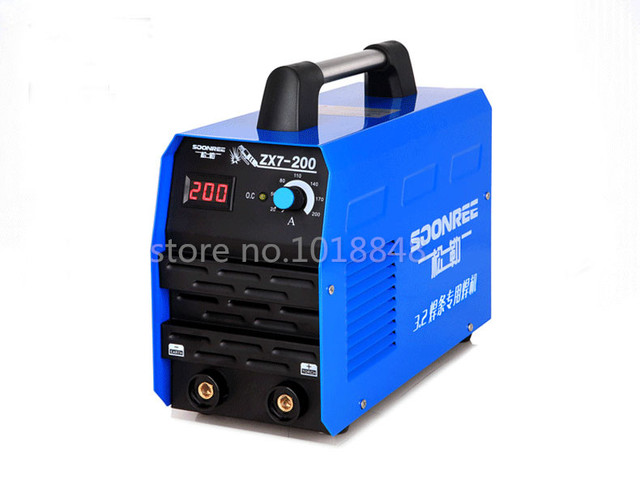 High quality DC Inverter welding equipment Inverter welder zx7-200 IGBT welding machine+5m cable