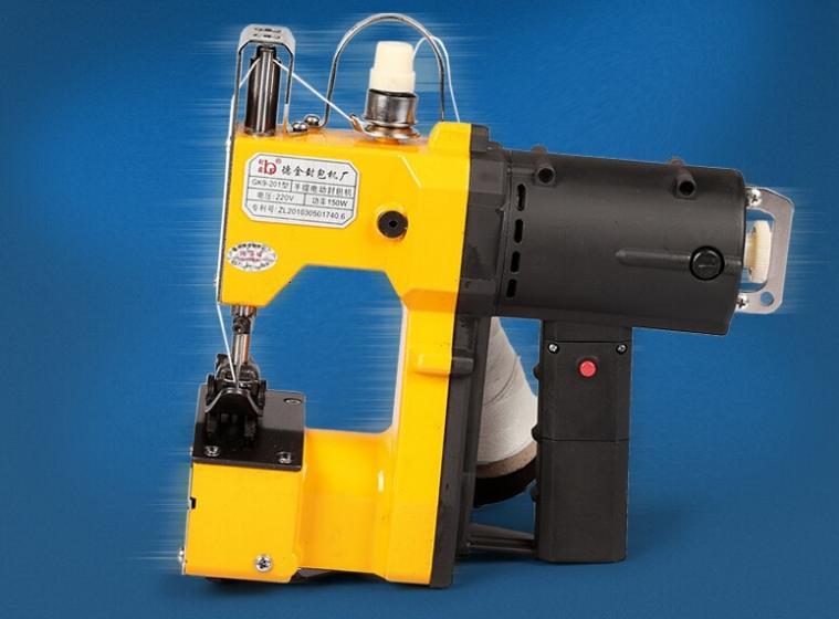 1PCS GK9-201 packet machine / gunny bag sealing machine /Automatic portable sealing machine bark river gunny hunter