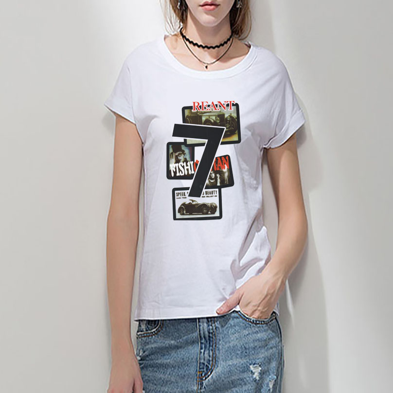 Buy New Woman T Shirts White Simple T