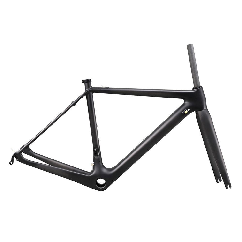 ICAN New Arrival Super Light Road Bike Suit 100x9mm Front 135x9mm Rear Axle V Brake Frame With PF30 BB UD Matt Finished
