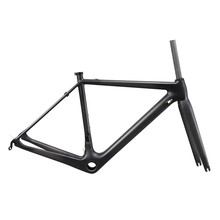 Top-rated Carbon road frame aerodynamic carbon BB86 DI2 compatiable internal bike AERO007