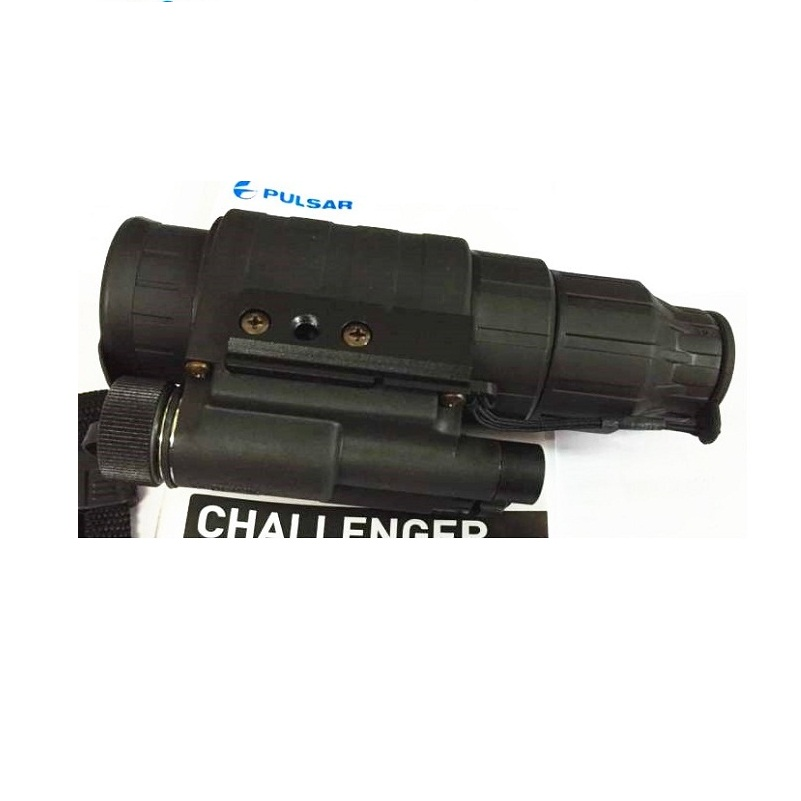 Original Pulsar 74099 Night vision scope Challenger GS 1X20 night vision monocular head mount for hunting camping in Monocular Binoculars from Sports Entertainment