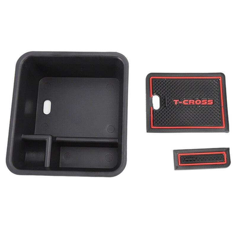 For Toyota Sienna 2011-2018 Armrest Storage Box Pallet Center Console Tray Inner